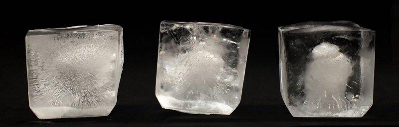 кубики из фильтрованной воды
