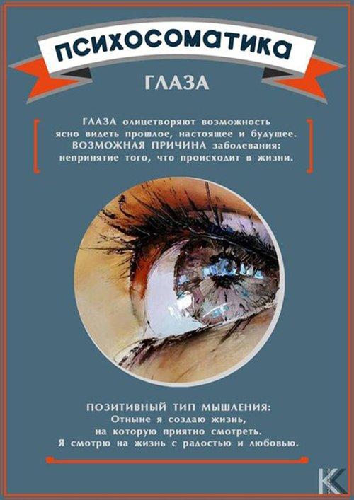 психосоматика глаз