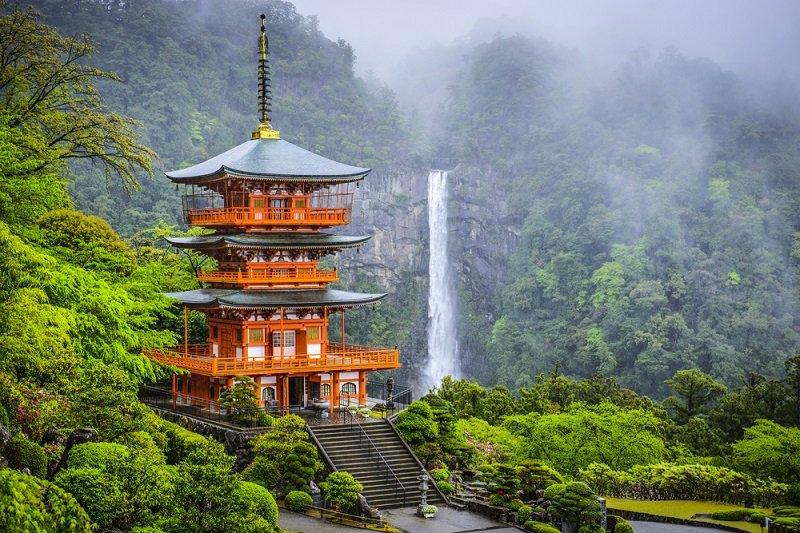природа японии фото