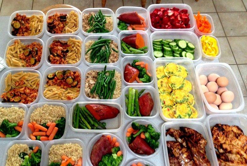 пятиразовое питание по часам