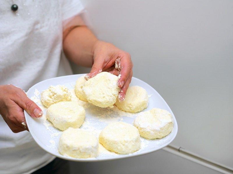 сырники в духовке без сахара
