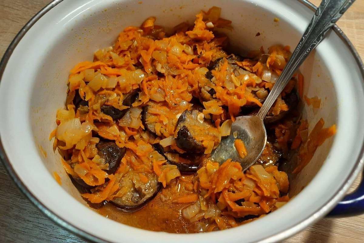 рагу из баклажанов с овощами рецепт
