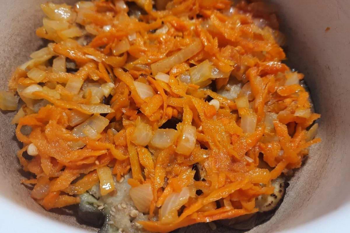 рагу из баклажан с овощами