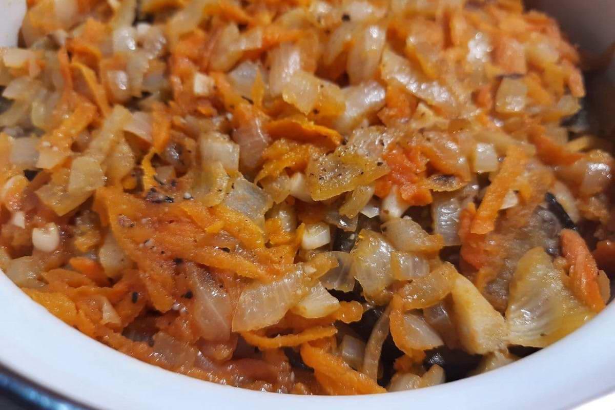 рагу из овощей с баклажанами и кабачками