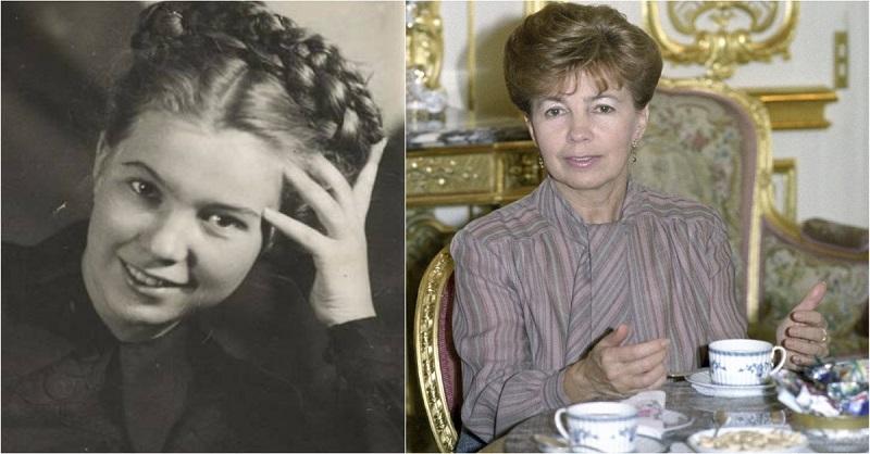 жена горбачева