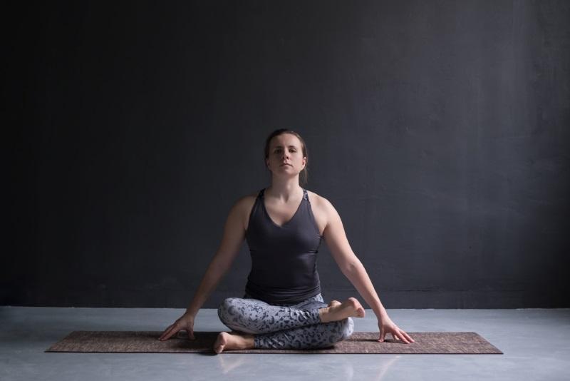 Как сесть в позу лотоса за месяц здоровье