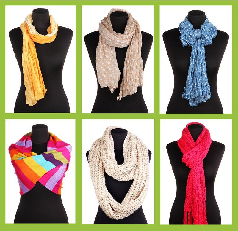 как подобрать шарф к пальто по цвету