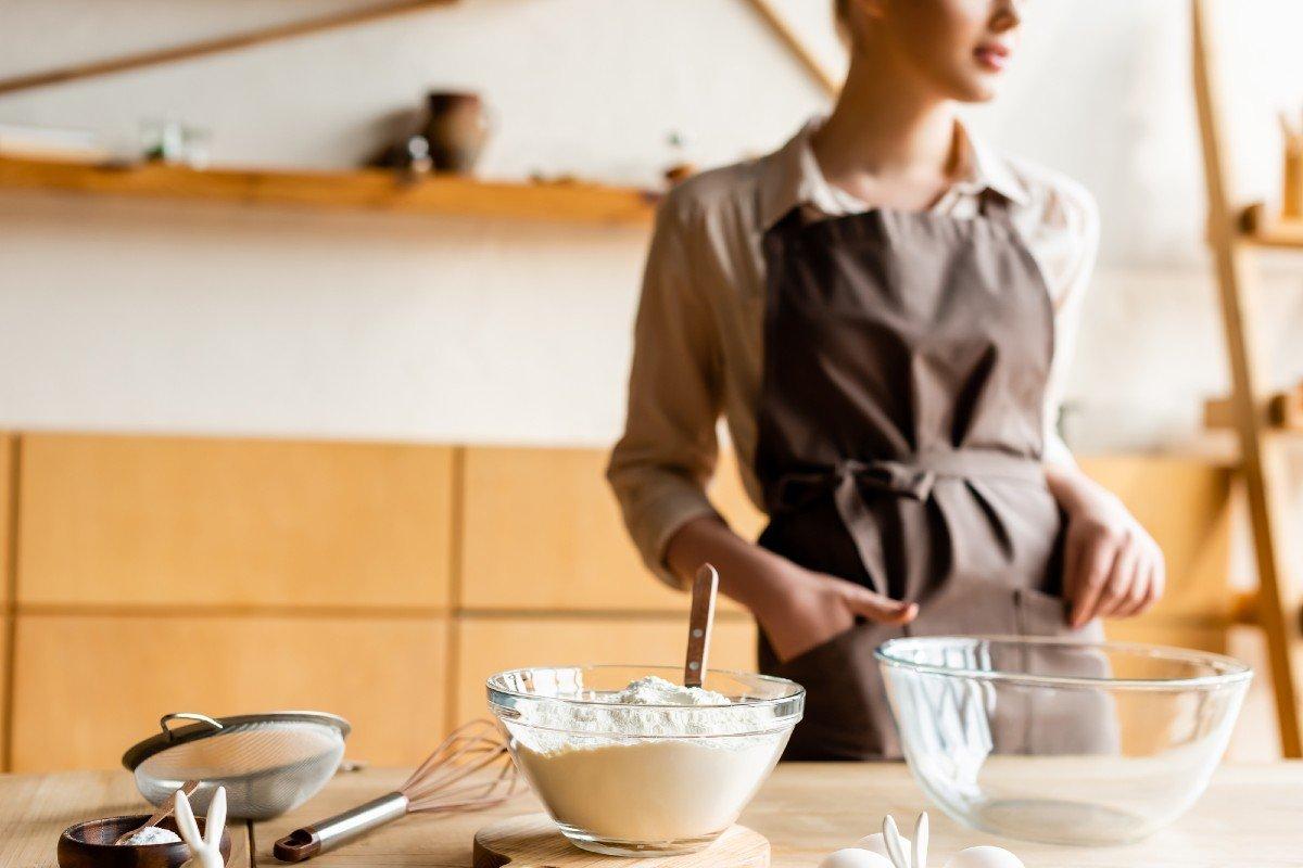 рецепт бисквита на кефире