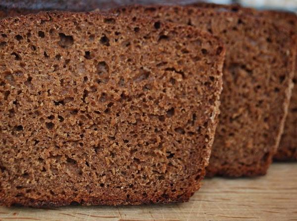 черный хлеб фото