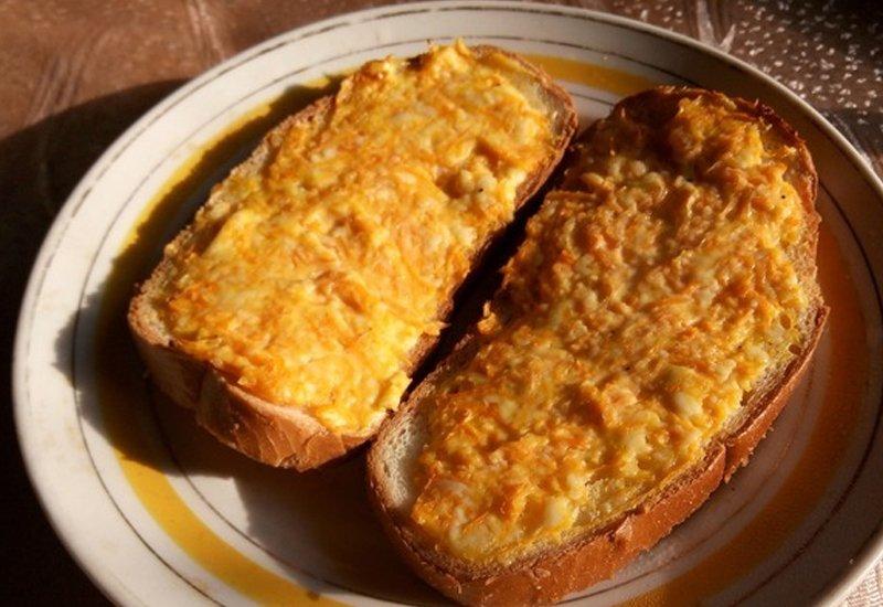 рецепт горячих бутербродов