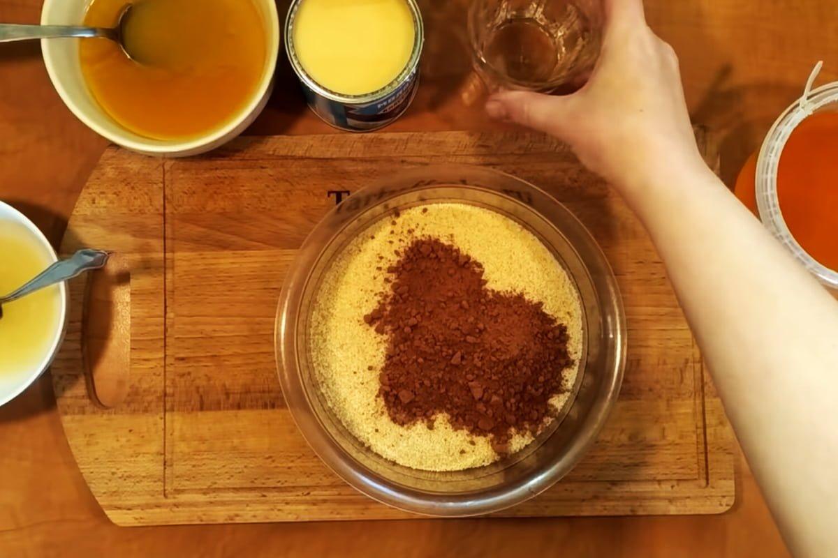 рецепт медовика без раскатки