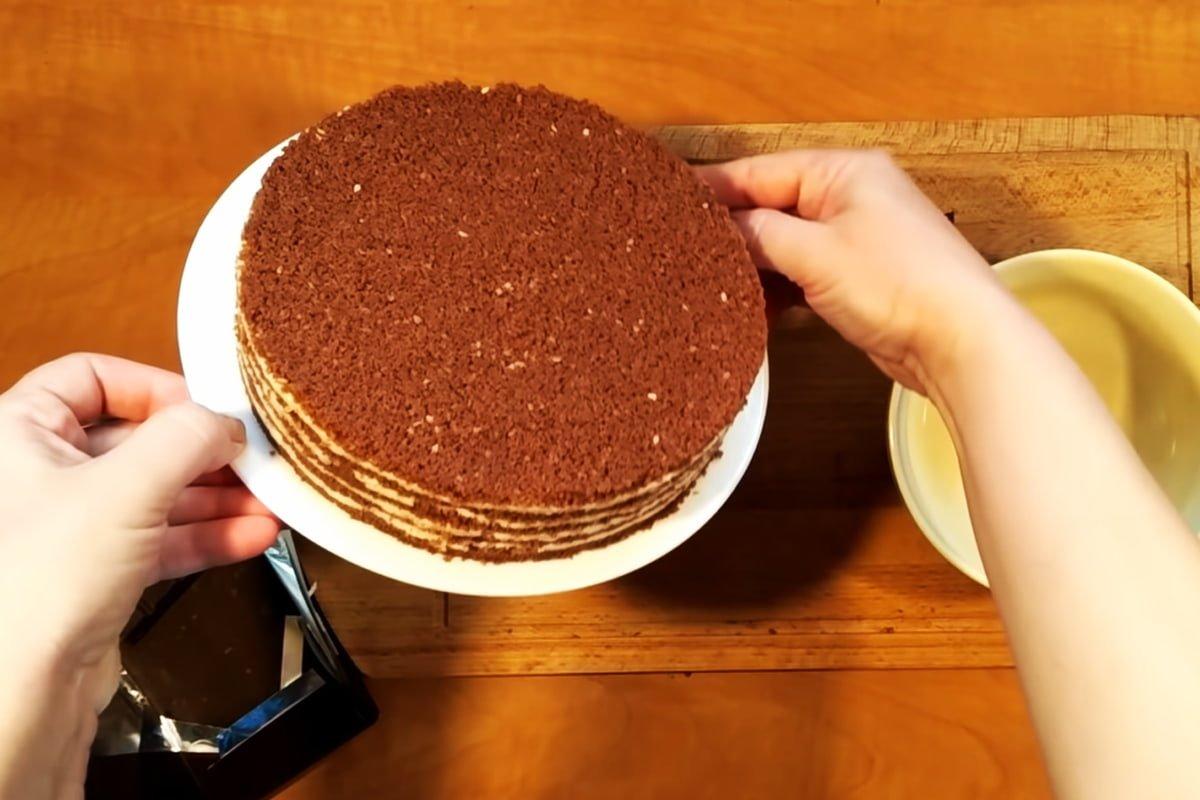 торт медовик сметанный крем рецепт