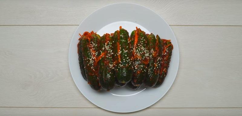 рецепт огурцов по корейски на зиму