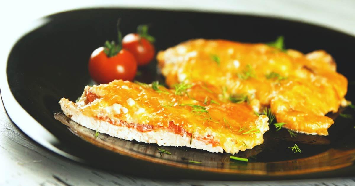 как приготовить куриную отбивную с сыром