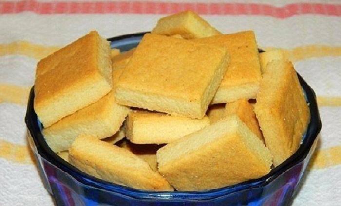 быстрое печенье без яиц и сахара
