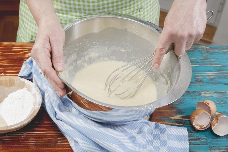 печенье на газу с молоком