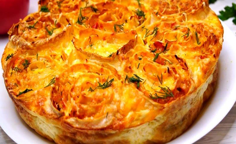 рецепт пирога из лаваша