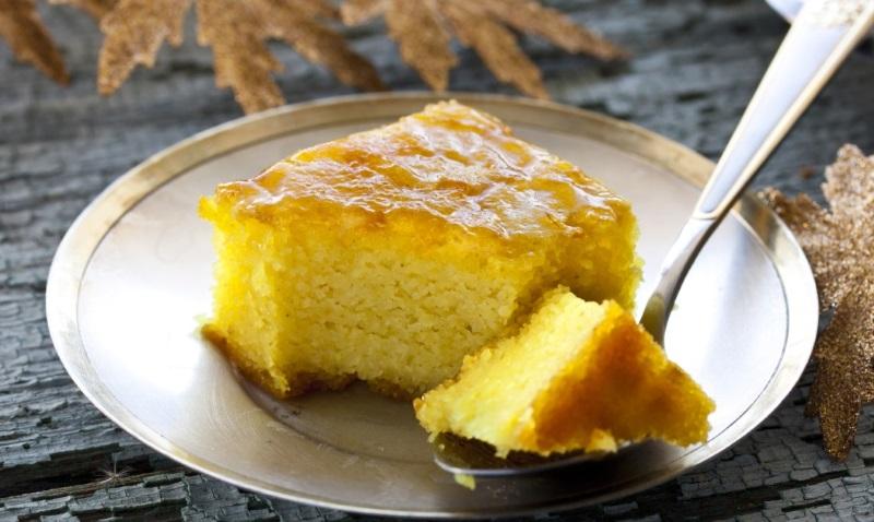 пирог на сковороде сладкий