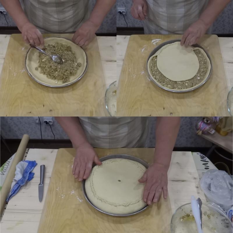 рецепт начинки для пирога с рыбой