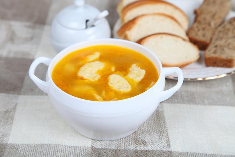 рецепт супа с галушками