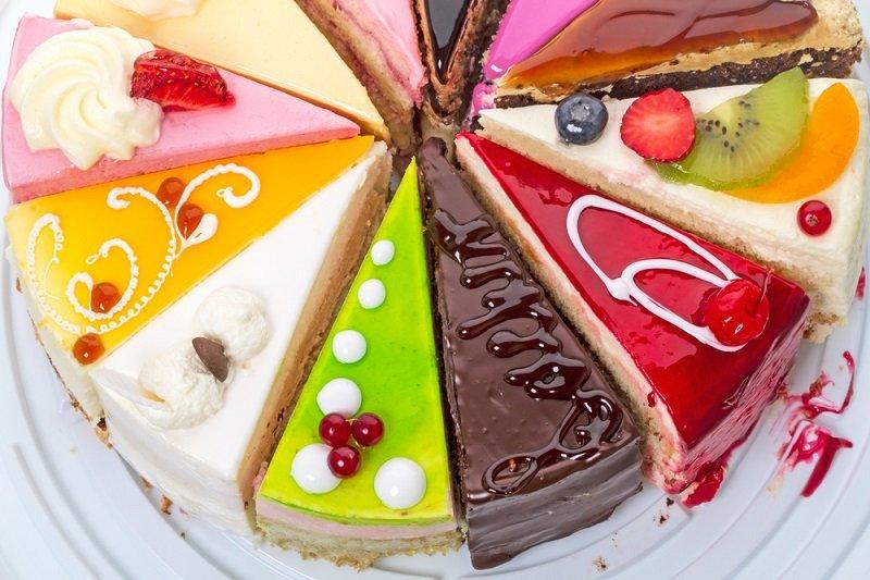 торт желейний
