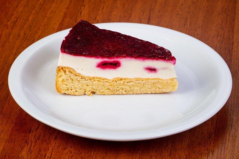 торт желе з крекером