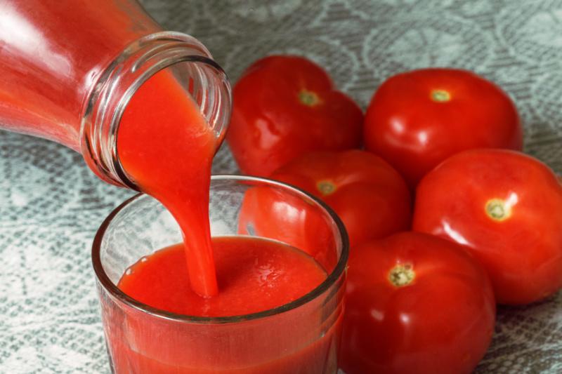 как готовить домашний томатный сок