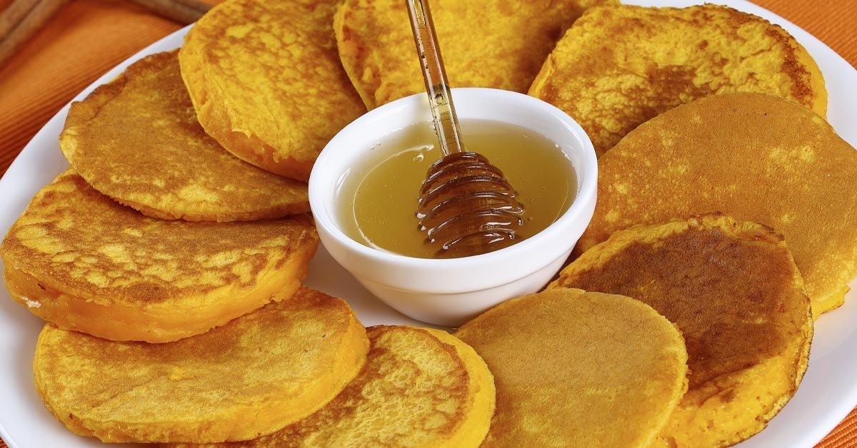 рецепт вкусных оладий из тыквы