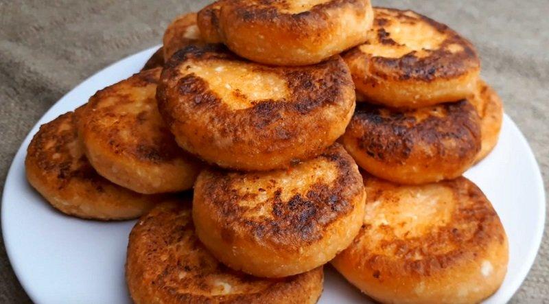 рецепт вкусных сырников с манной крупой