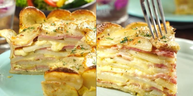 самый лучший рецепт запеченного картофеля