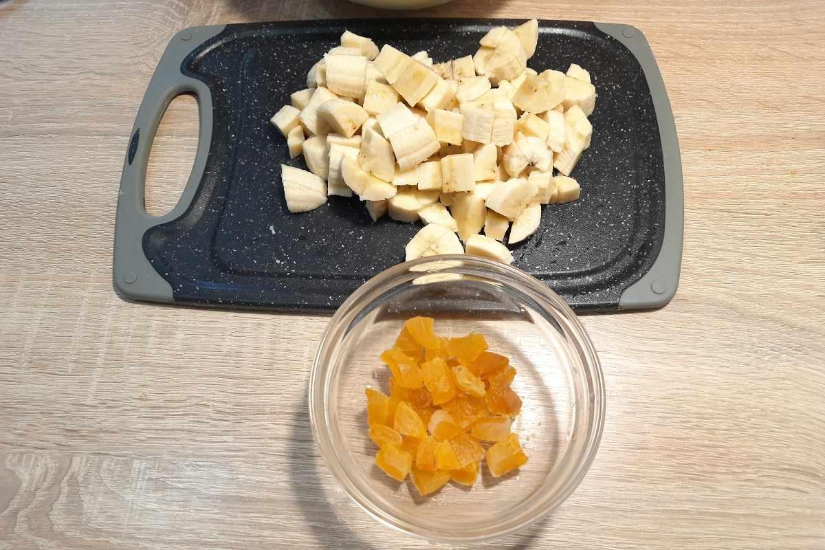 рецепт творожной запеканки с бананом