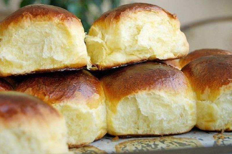 булочки с сахаром