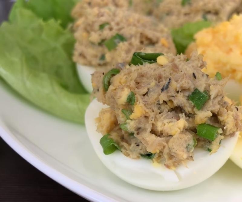 быстрые рецепты фаршированных яиц