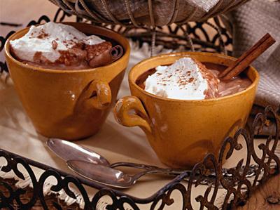 горячий шоколад с пряностями