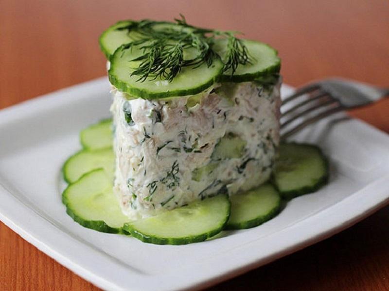 рецепты быстрых и сытных салатов