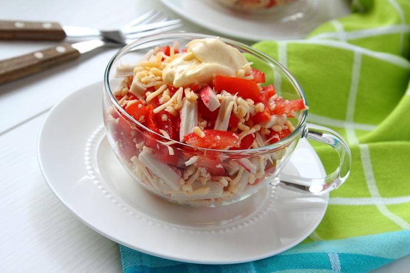 рецепты быстрых салатов без варки