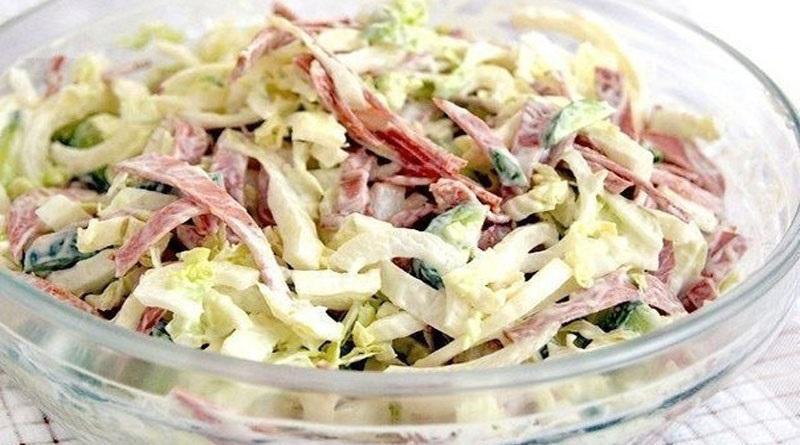 рецепты быстрых салатов и закусок