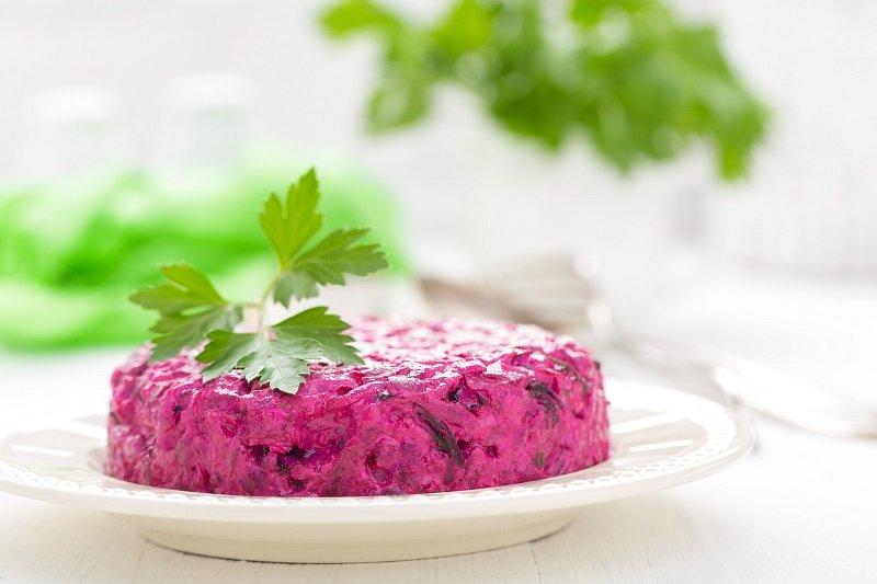 рецепт салатов с жареным луком