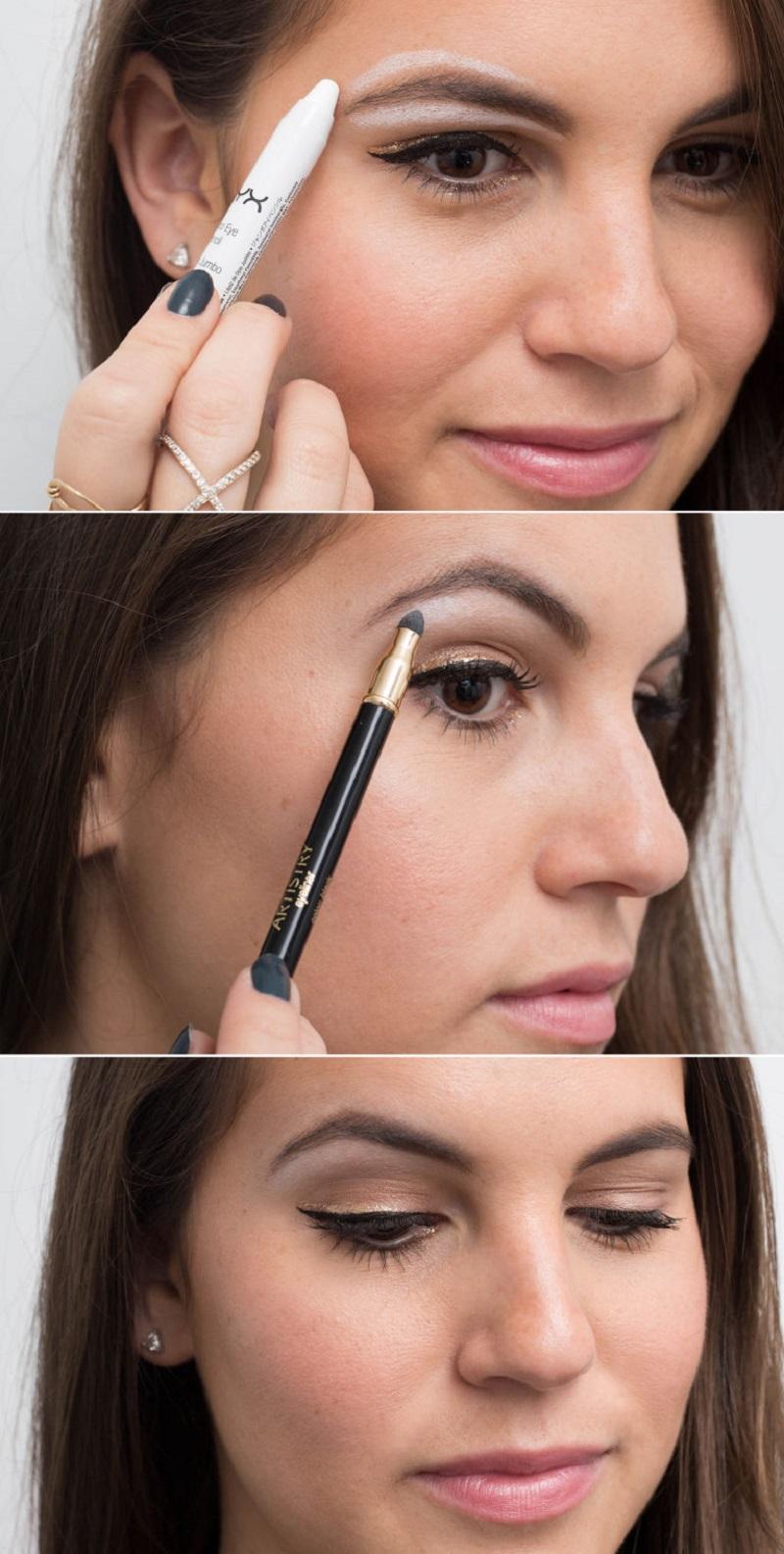 хитрости макияжа глаз