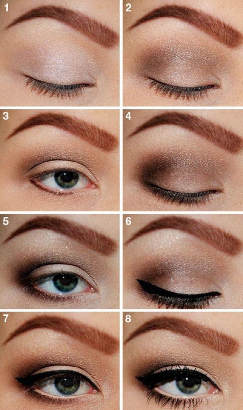 хитрости макияжа глаз фото