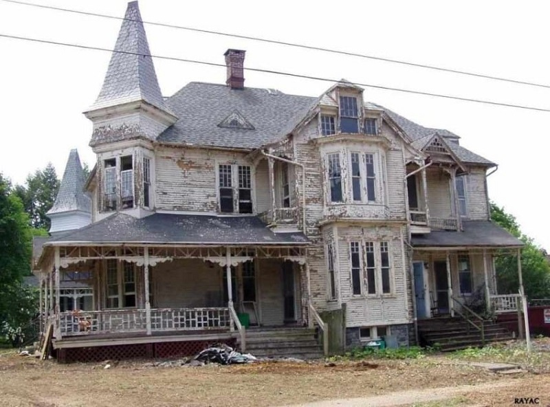 реконструкция дома до и после