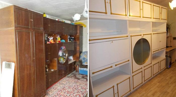 переделка мебели в стиле прованс