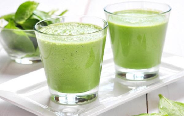 Коктейль кефир огурец зелень для похудения