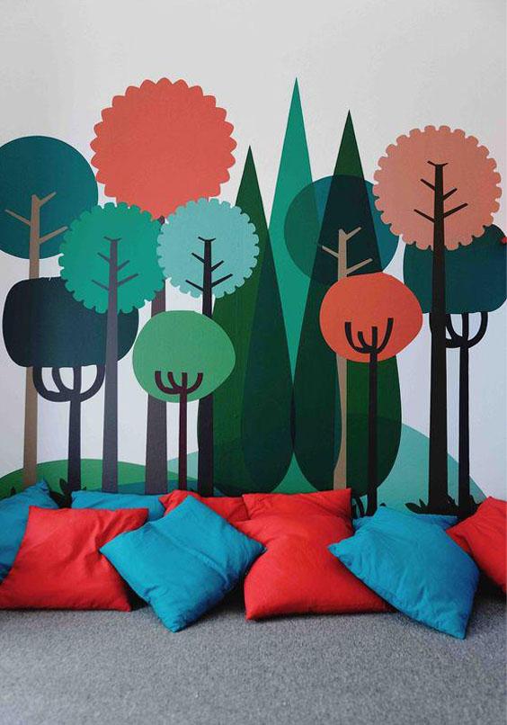 стилизованные деревья