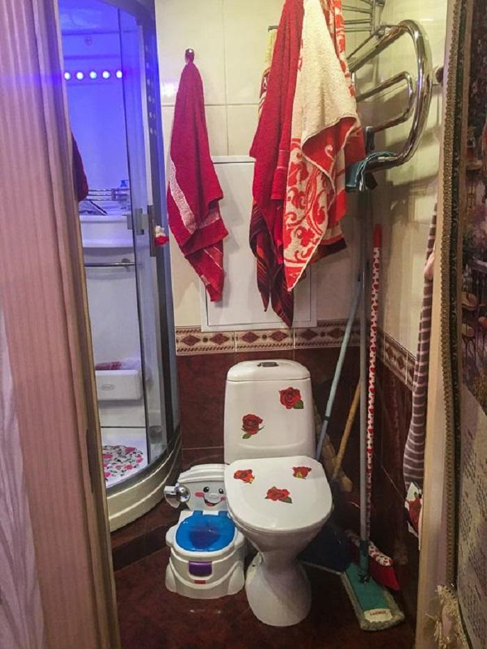 luxusný kúpeľňový interiér
