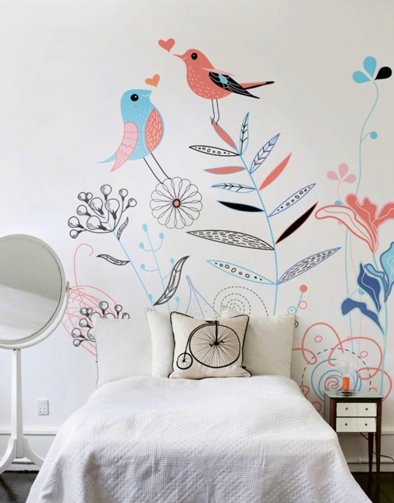 nástenné maľovanie v interiéri