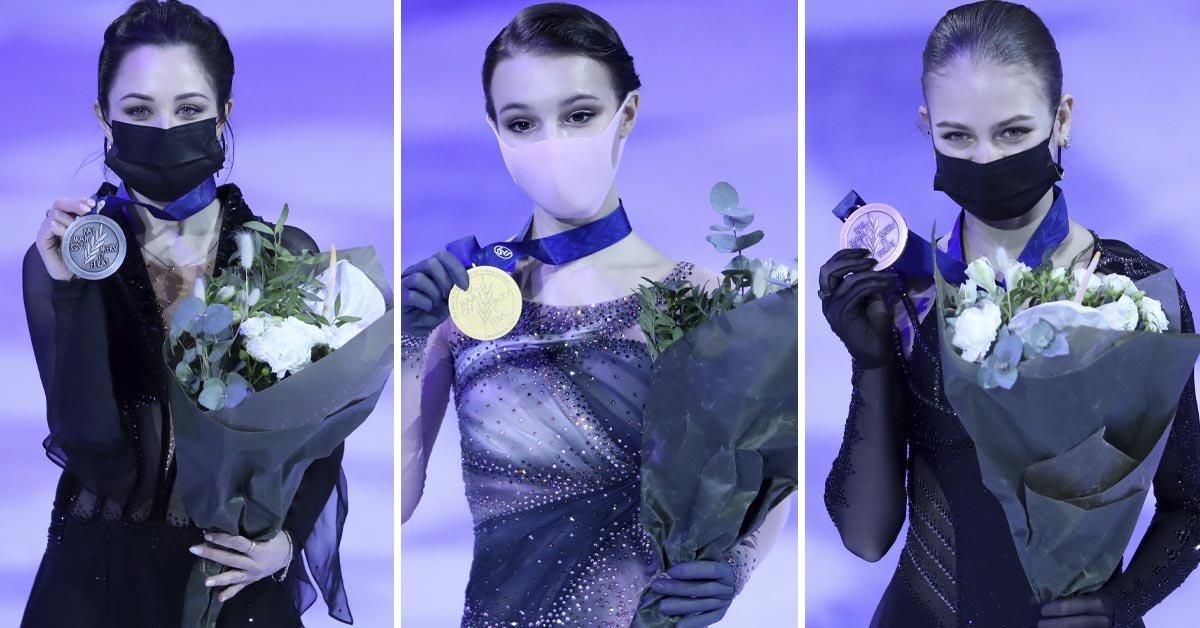 Российские фигуристки пахали как проклятые, чтобы занять весь пьедестал на чемпионате мира