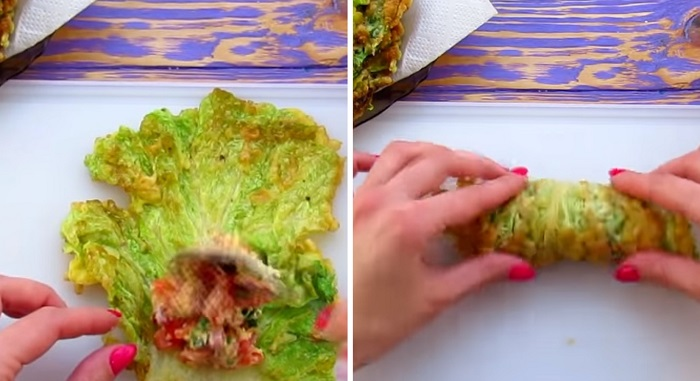 рулет из капусты в духовке