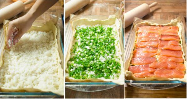 Начинка для рыбного пирога с