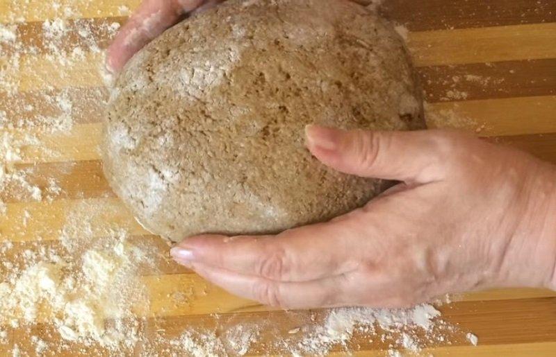 ржаной заварной хлеб на закваске
